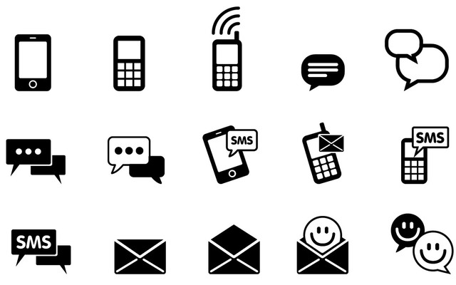 Free Simplistic IMS & SMS Icon Pack
