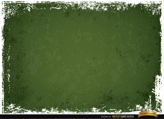 Free Green scratched wall grunge background