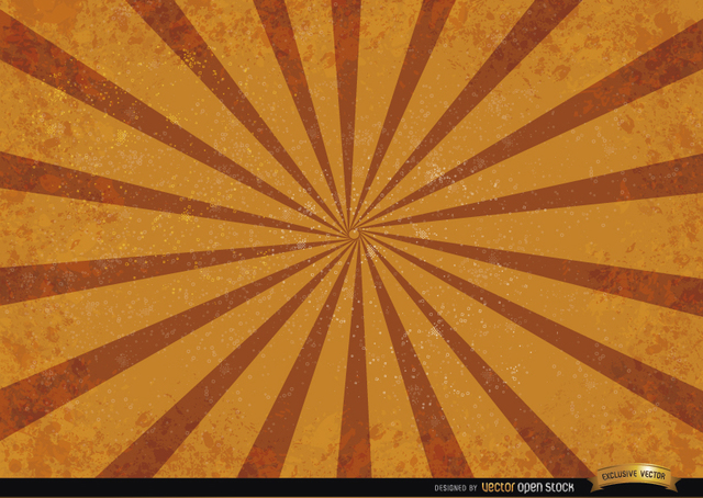 Free Orange red radial stripes grunge background