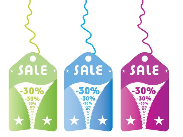 Free Zipper Sales Tag Template