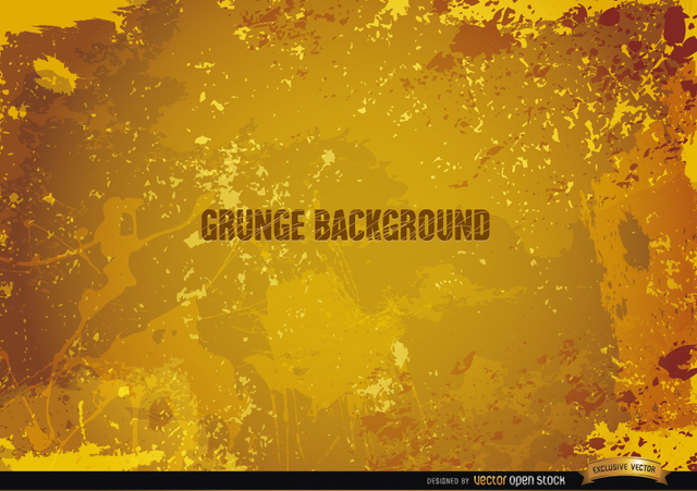 Free Yellow Grunge background
