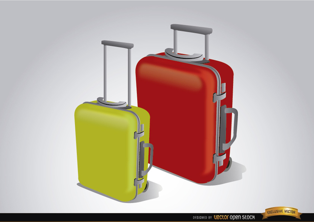 Free Luggage suitcases to travel