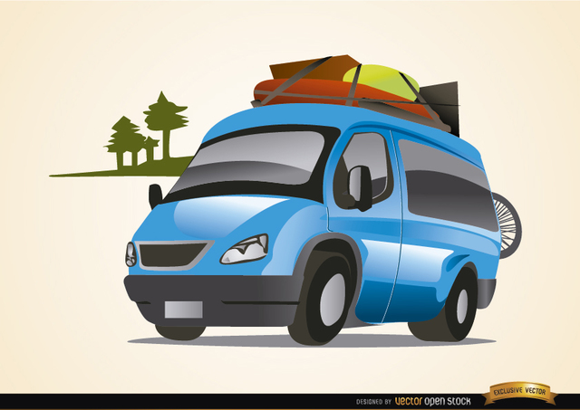 Free Van auto traveling vacations