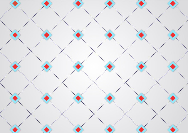 Free Abstract Dotted Line Geometric Crossing Pattern