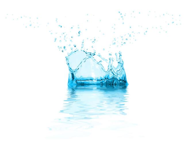 Free Realistic Water Splash Background