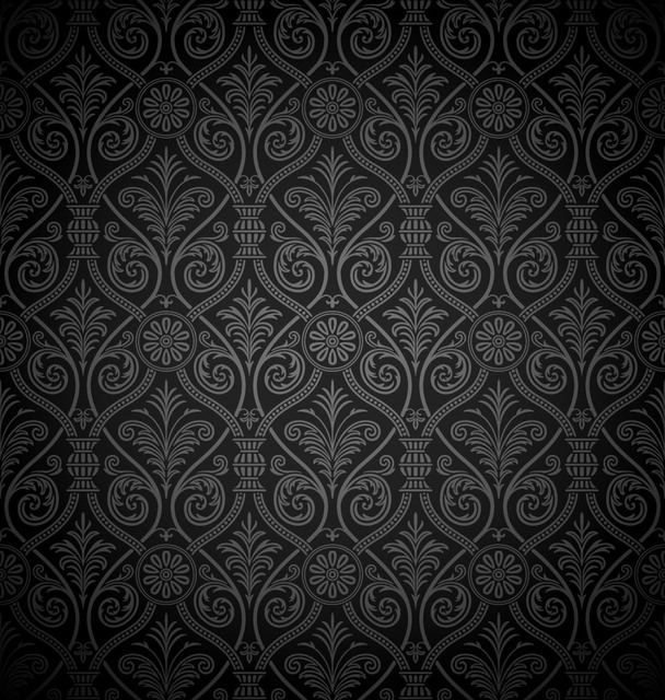 Free Seamless Ancient Damask Pattern Background