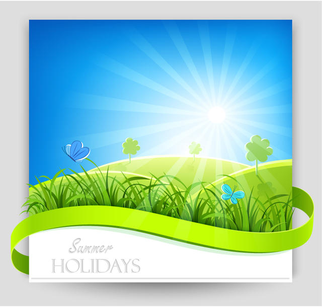 Free Summer Day Nature Background