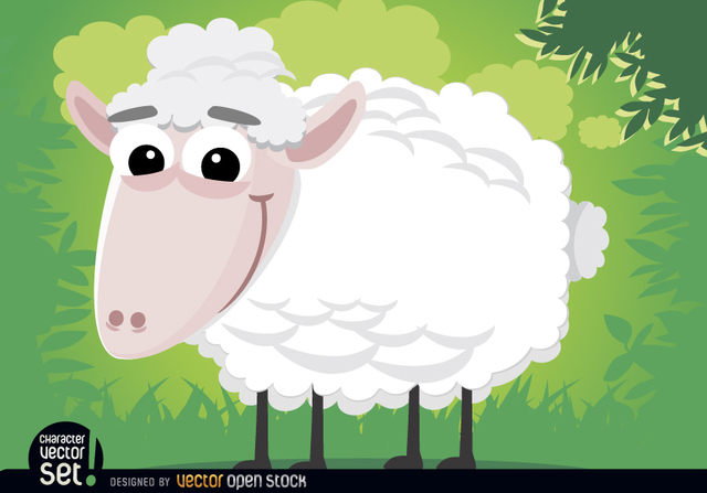 Free Sheep cartoon animal