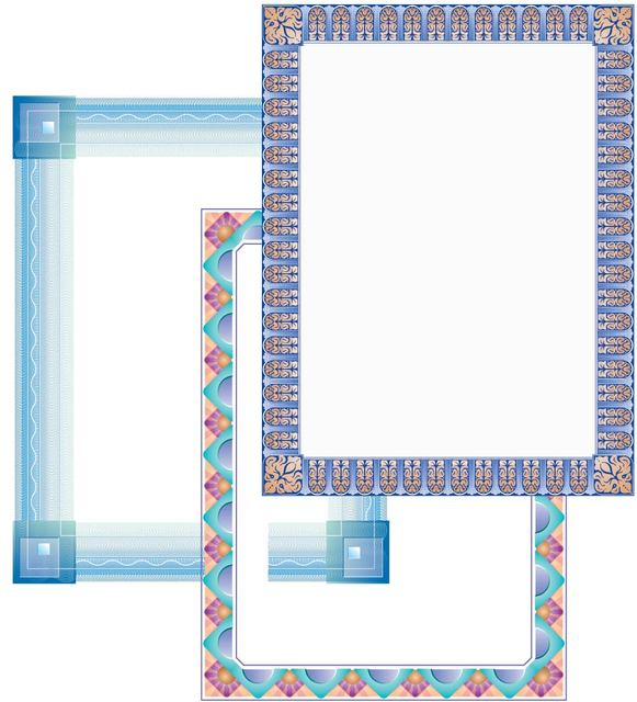 free vector frames and borders