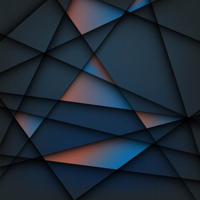 Free Creative Geometric Lines Tiled Background