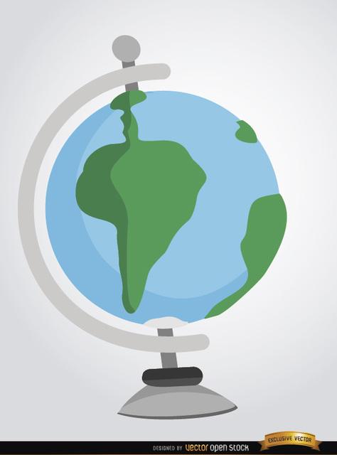 Free Desktop earth globe cartoon