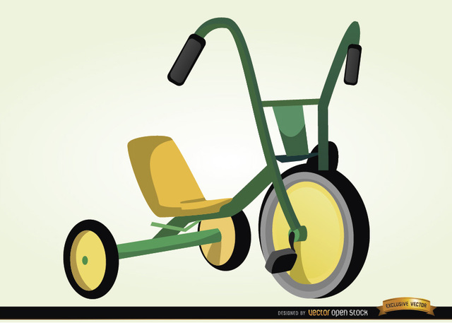 Free Children bicycle cartoon