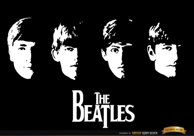 Free With The Beatles album wallpaper