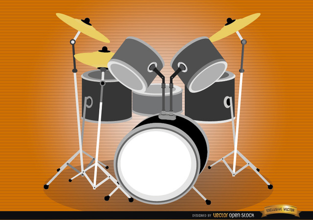 Free Drum set musical instrument