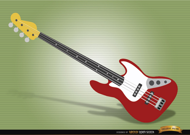 Free Bass guitar musical instrument