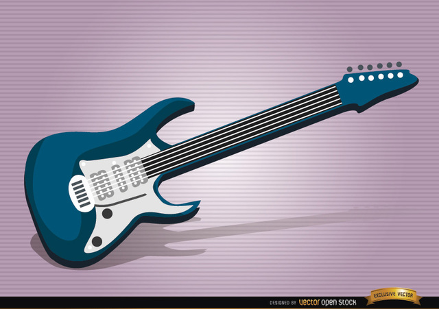 Free Electric guitar musical instrument