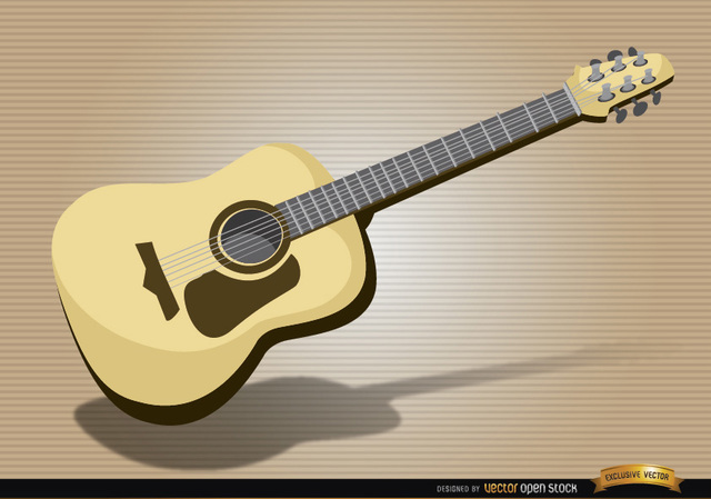 Free Acoustic guitar musical instrument