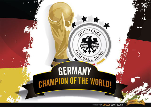 Free Germany Champion of Brazil 2014 Worldcup
