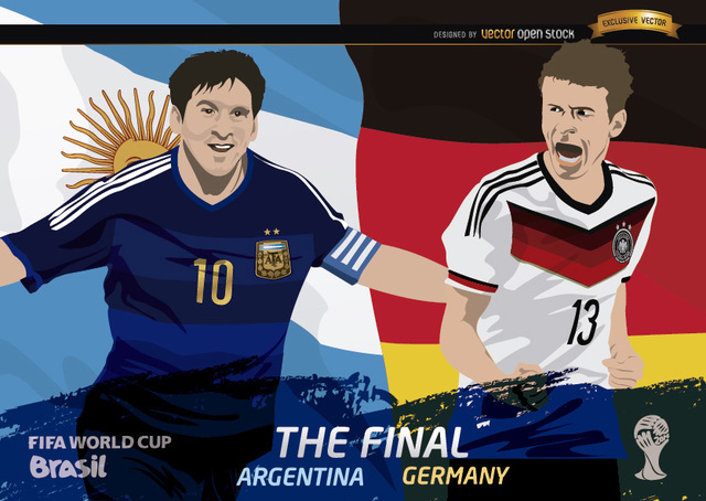 Free Final Argentina Germany FIFA World Cup