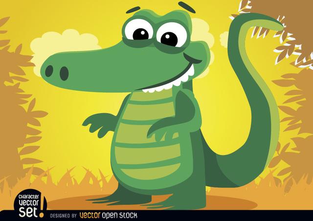 Free Crocodile animal in jungle