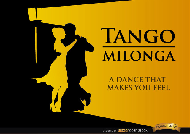Free Tango Milonga dancing background