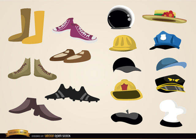 Free Shoes and hats collections