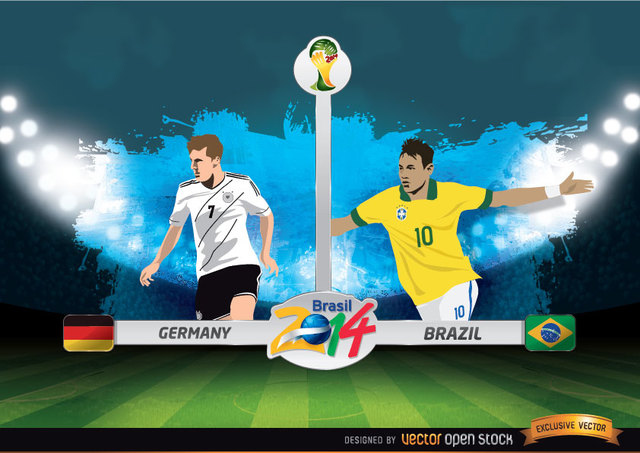 Free Germany Vs. Brazil FIFA World Cup