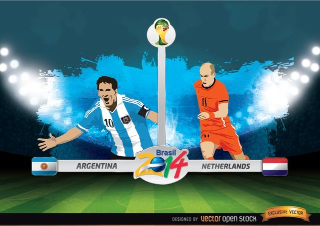 Free Argentina Vs. Netherlands FIFA World Cup
