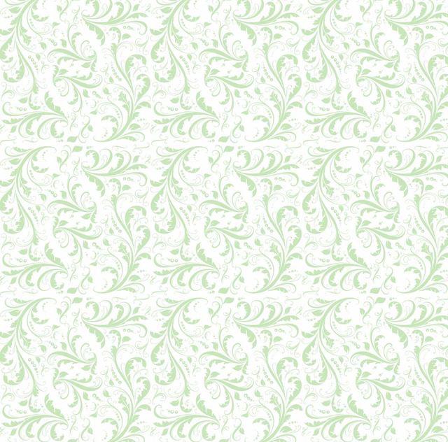 Free Simplistic Flat Seamless Floral Pattern