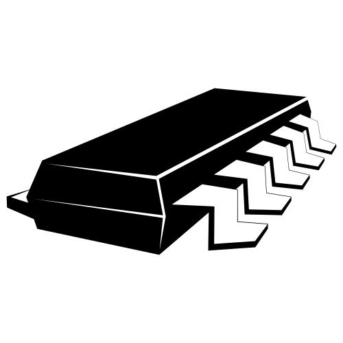 Free Black & White Electric Chip