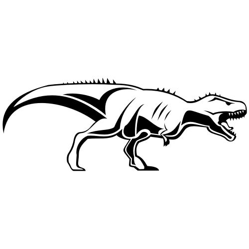 Free Tyrannosaurus rex Dinosaur Sketch