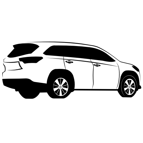 Free Toyota Highlander Sketch