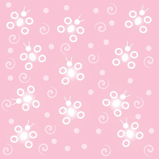 Free Abstract Funky Butterfly Pink Background