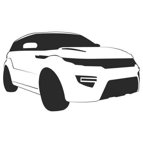 Free Range Rover Evoque Car Sketch