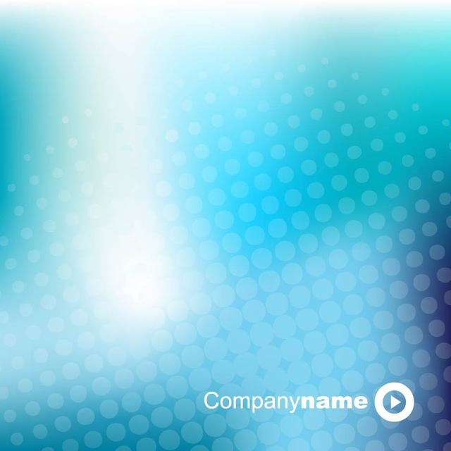 Free Blue Glowing Halftone Dot Business Background
