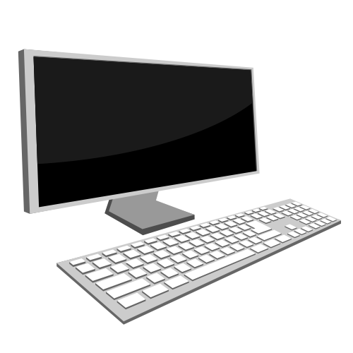 Free Desktop Monitor and Keyboard