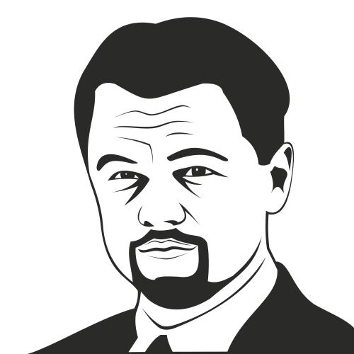 Free Leonardo DiCaprio Sketched Portrait