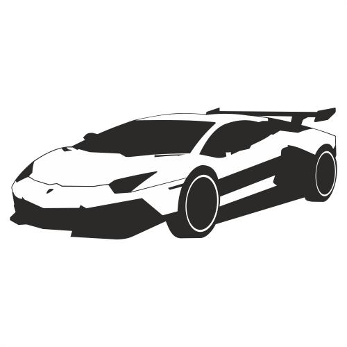 Free Luxury Racing Car Lamborghini