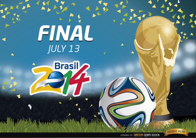 Free Vectors: Final Brazil 2014 Promo | Vector Open Stock