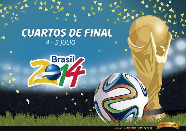 Free Cuartos de Final Brasil 2014 Promo