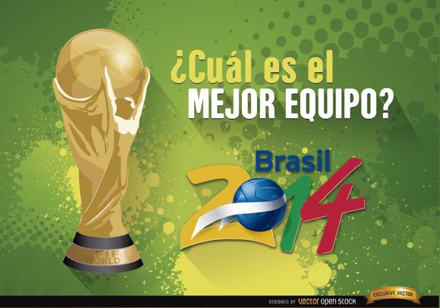 Free Copa Mundial Brasil 2014 Mejor equipo