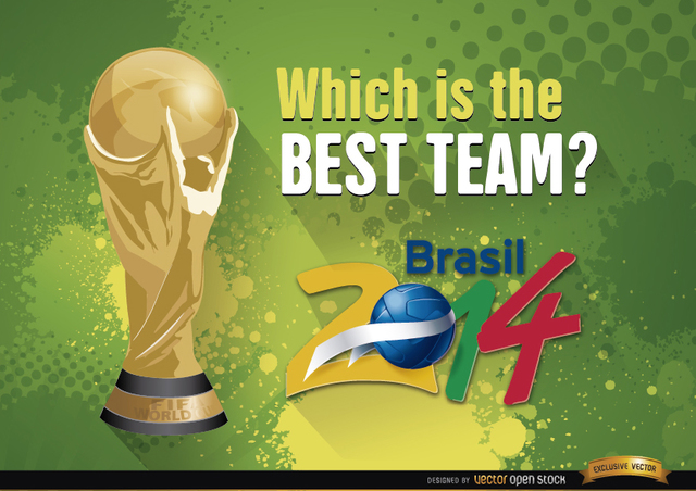 Free Brazil 2014 World Cup Best team