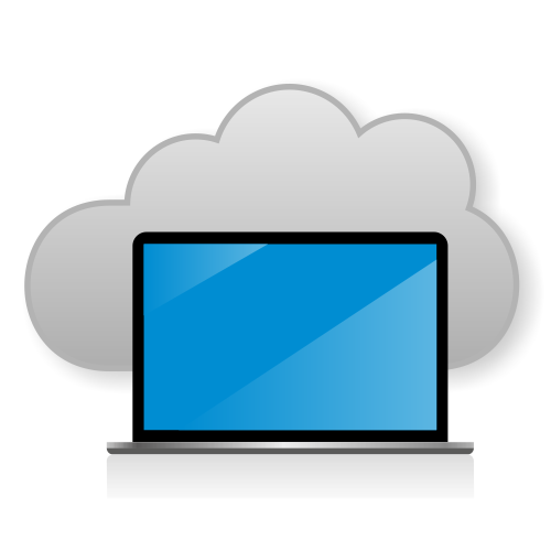 Free Cloud computing concept
