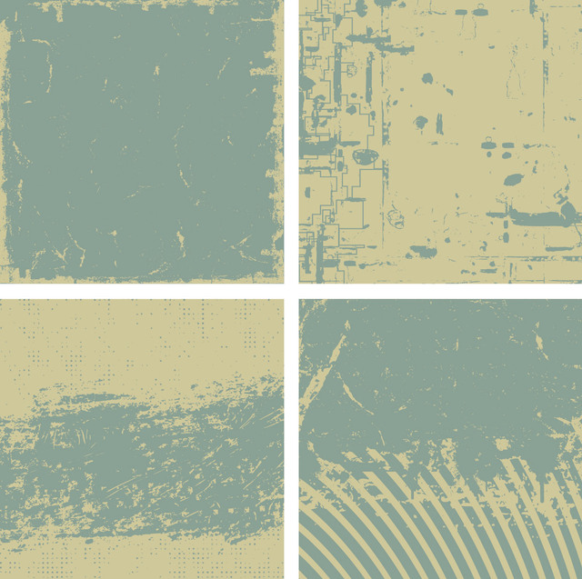 Free 4 Grungy Vintage Backgrounds