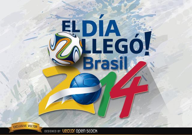 Free Brazil 2014 día de inicio promo