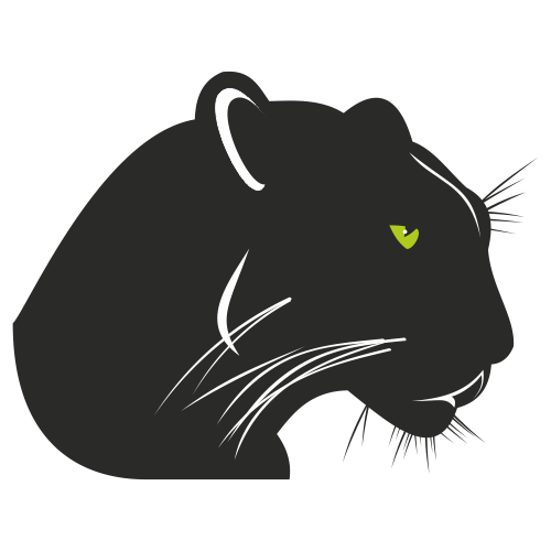 Free Black panther vector