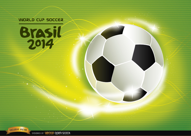 Free Soccer World Cup 2014 background