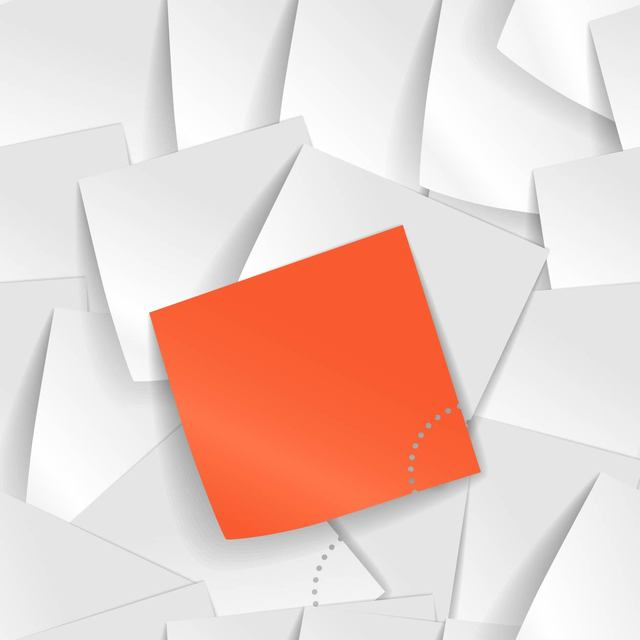 Free Piles of Realistic Sticky Notes Background