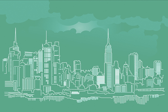 Free Free NYC Skyline Vector