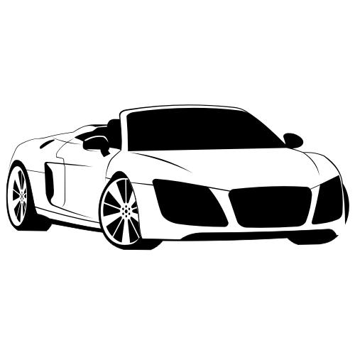 Free Audi R8 Spyder